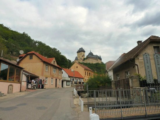 Karlstejn Castle: from the town