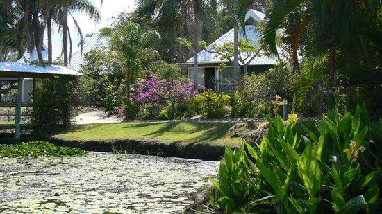 KBR's Licensed Restaurant : Set in Resort Grounds by a Pond