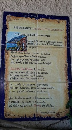 Al Barilotto Del Nonno : La Historia