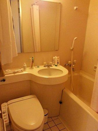 Hearton Hotel Shinsaibashi : Bathroom