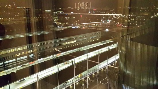 Radisson Blu Waterfront Hotel: view from 13th floor