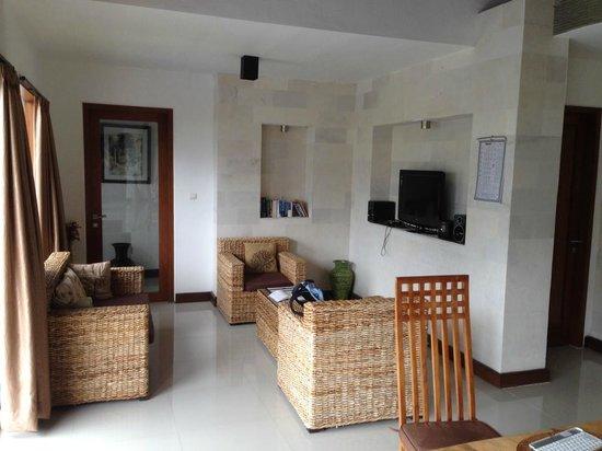 Villa Agung Khalia: Lounge area Villa Agung Maia