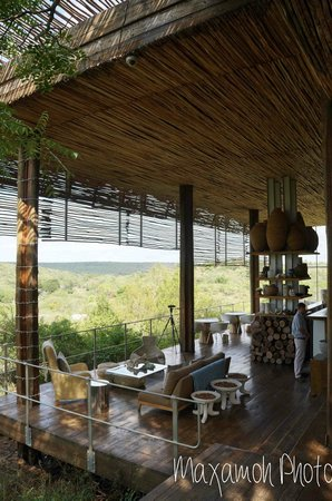 Singita Lebombo Lodge: Main Bar