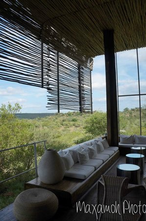 Singita Lebombo Lodge: View from Bar