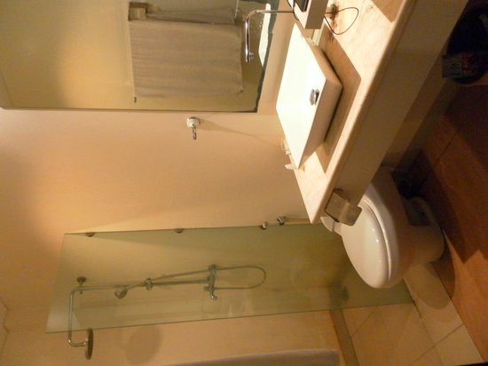 A Residence Kuta: the bathroom