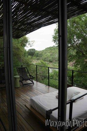 Singita Sweni Lodge : Balcony