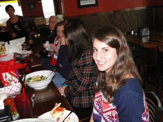 15th Street Pizza & Pub: great place for family get togethers