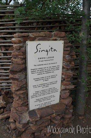 Singita Sweni Lodge: Singita