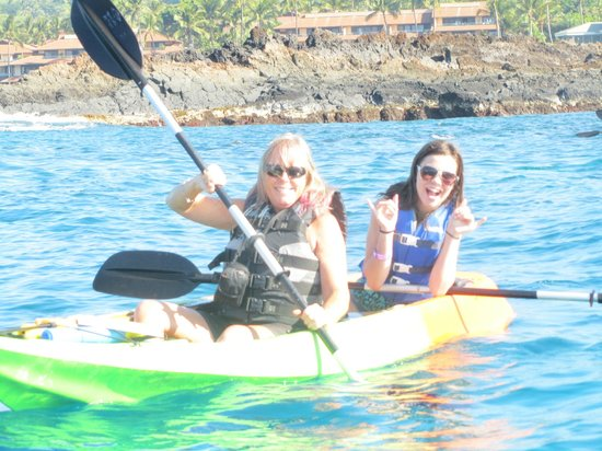 Clear Kayaks Maui : Just having fun!