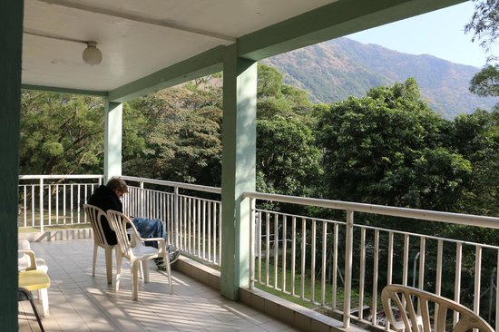 YHA Ngong Ping SG Davis Youth Hostel: morning view from my window <3