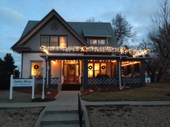 Spencer House Bed and Breakfast : The Spencer House at Christmas