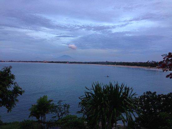 Four Seasons Resort Bali at Jimbaran Bay: The view from the resort pool