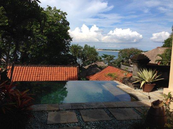 Four Seasons Resort Bali at Jimbaran Bay: View from our villa