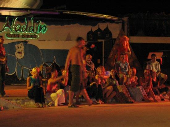 Aladdin Beach Resort: Анимация