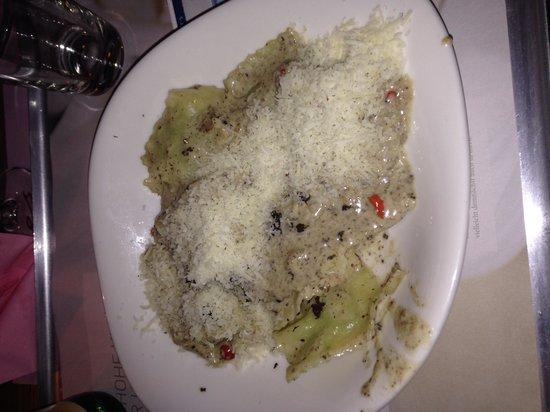 Vapiano: Ravioli with Truffles!