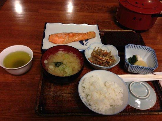 Hotel Tateshina: Japanese style breakfast