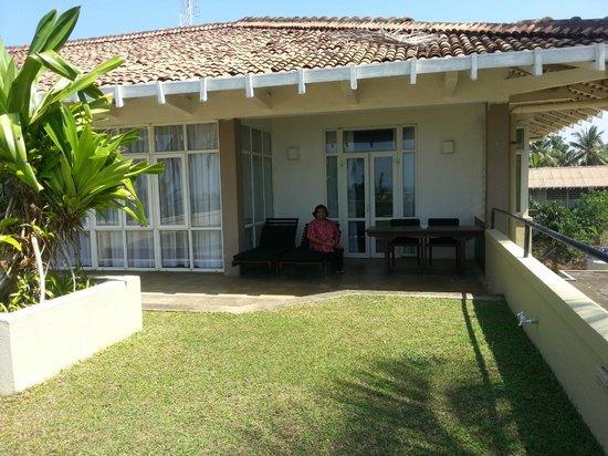 Heritance Ahungalla: Private Garden Balcony