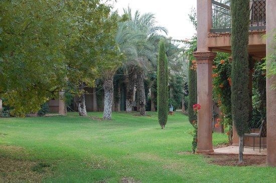 Club Med Marrakech La Palmeraie: un coin perdu du parc