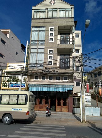 Front of Thien An Hotel