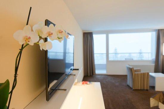 Hotel Waldegg: Zimmer mit Orchidee