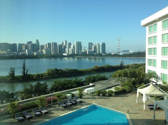 Marco Polo Xiamen: My room view of the lake