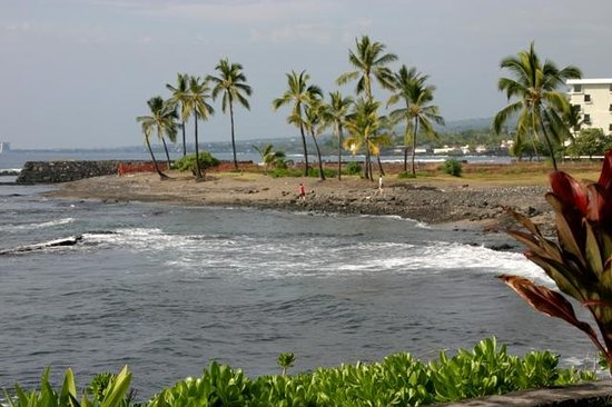 Keauhou Kona Surf & Racquet Club: View from lanai of unit #104