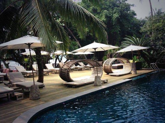 The pool at An Lam Saigon River