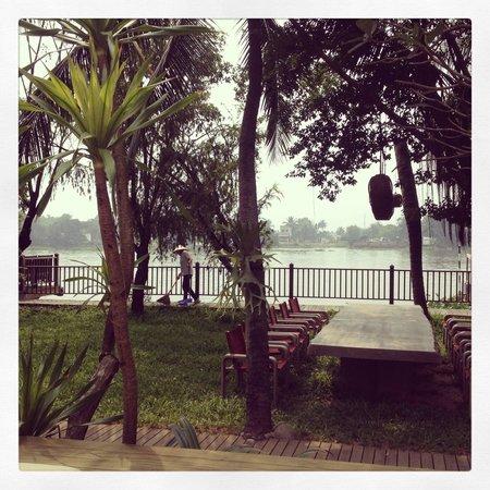 An Lam Saigon River: An Lam by the river