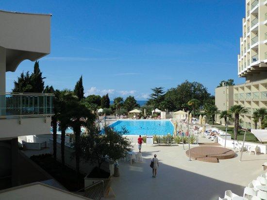 Hotel Laguna Materada: uitzicht