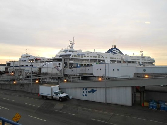 BC Ferries : Vista geral do terminal