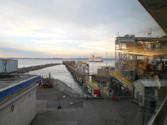 BC Ferries : Chegada do Ferry