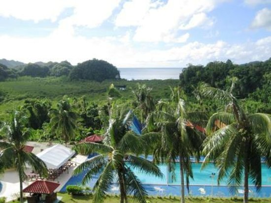 Airai Water Paradise Hotel & Spa : View from the room