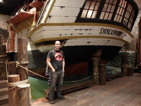IMAX Victoria In the Royal BC Museum: Navio Antigo