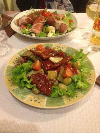 Ristorante Paradiso : Entrée Légumes Italien grillée....