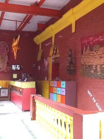 Ganpati Guest House : Reception