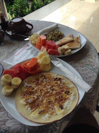 Tanah Semujan Ubud: Delicious breakfast