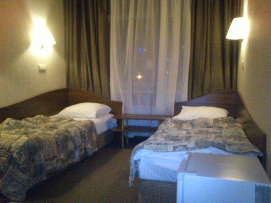 Rossiya Hotel: постели