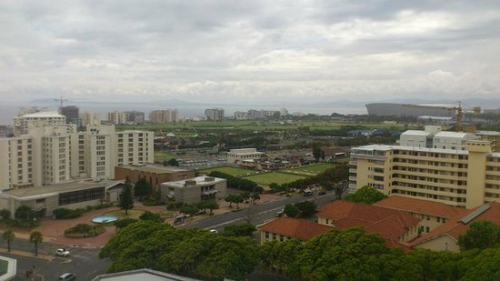 The Ritz Cape Town: View from room # 1102