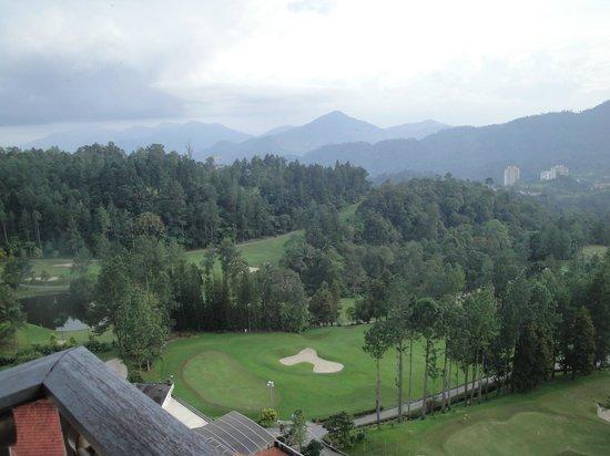 Awana Hotel: view from balcony