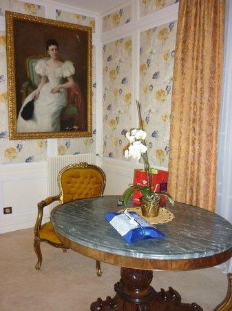 Hotel l'Ecrin : Интерьер номера