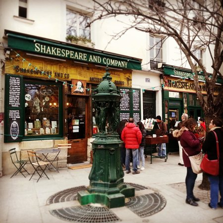 Librairie Shakespeare and Company : nice!