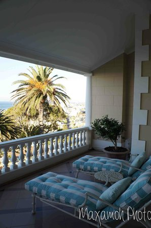 Ellerman House: House Room Balcony