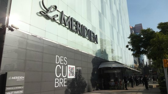 Le Meridien Mexico City: Entrance
