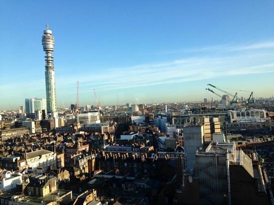 Saint Georges Hotel : Fantastic views from 15th floor breakfast room