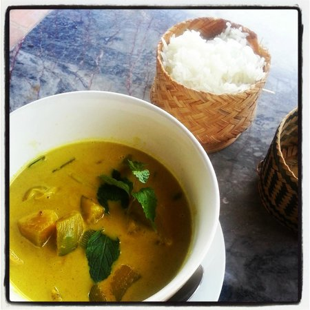 Cafe Toui : The pumpkin curry is delectable