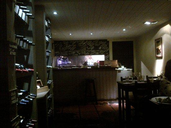 Marlo: Une petite salle, une équipe accueillante et chaleureuse et l'incontournable asado !