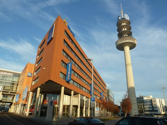 Novotel Suites Hannover City: Front view