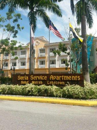Suria Service Apartment Hotel Main Enterance Of Bukit Merah
