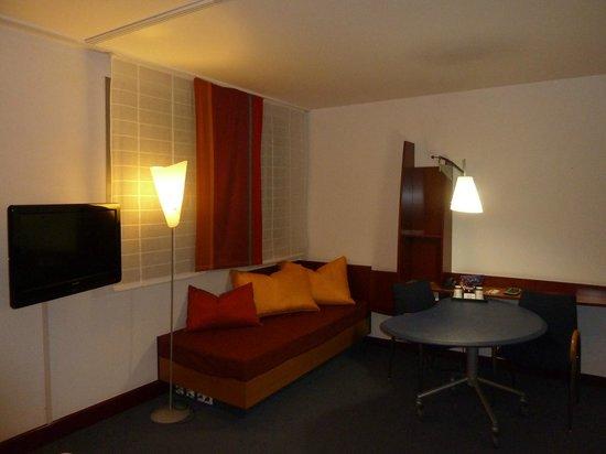 Novotel Suites Hannover City: Sitting area