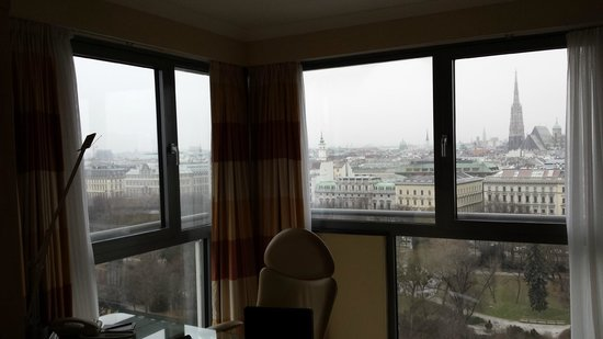 Hilton Vienna: View from our suite :)